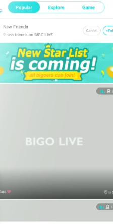 delete bigo live account
